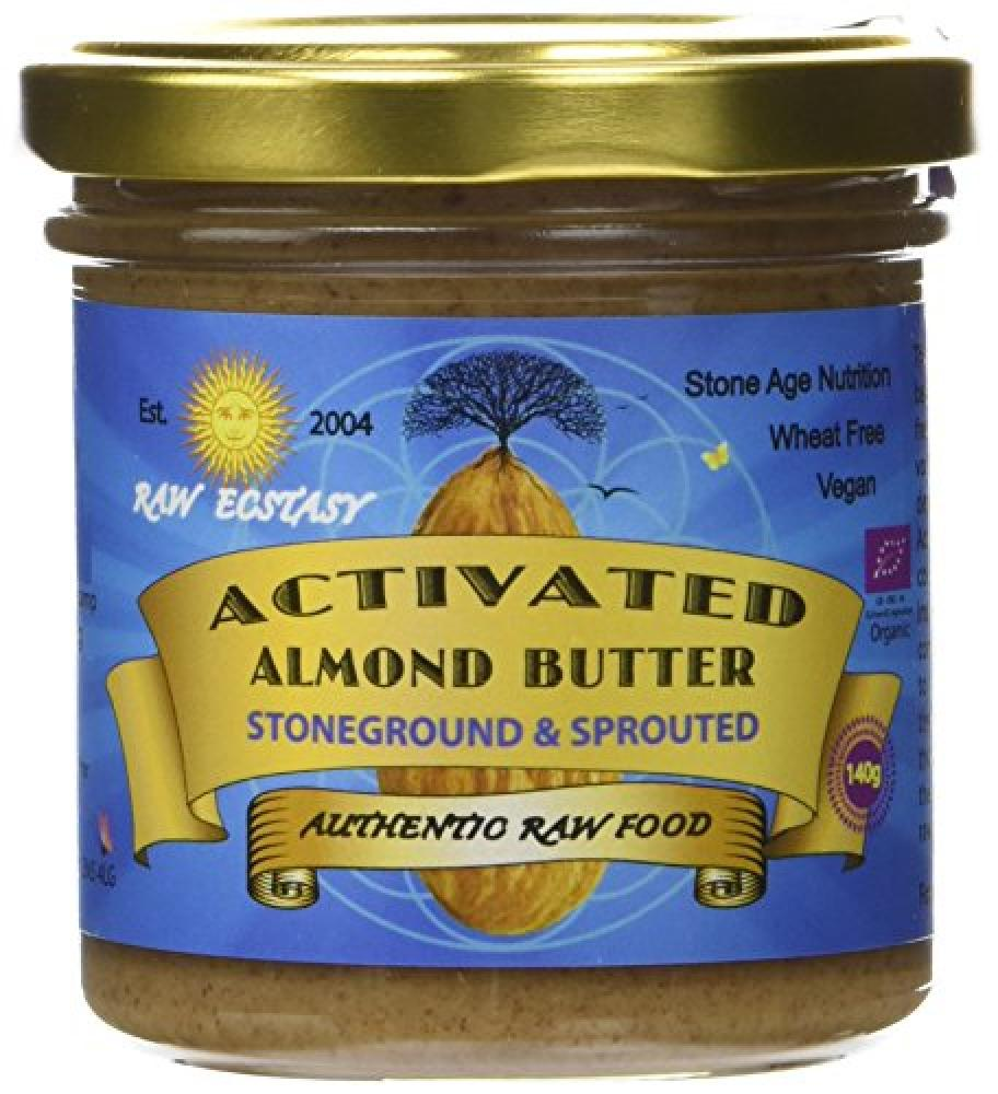 Raw Ecstasy Activated Almond Butter 140 g