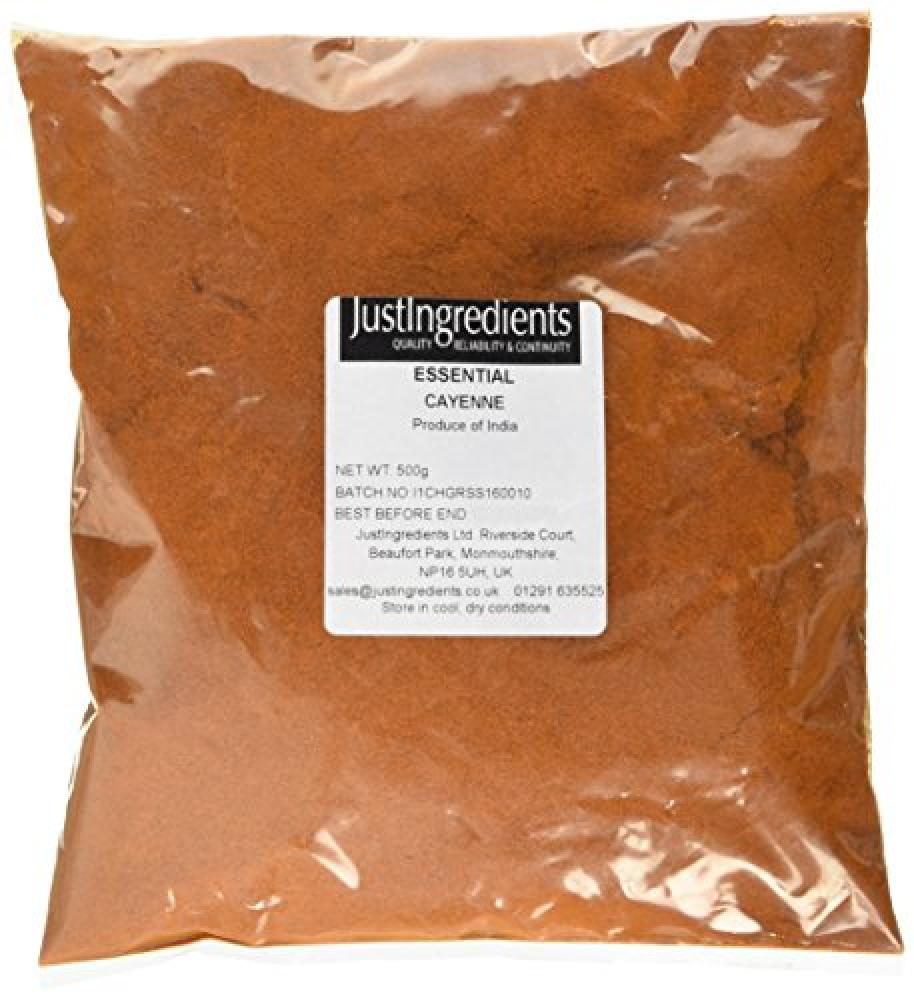JustIngredients Essential Cayenne Pepper Loose 500g