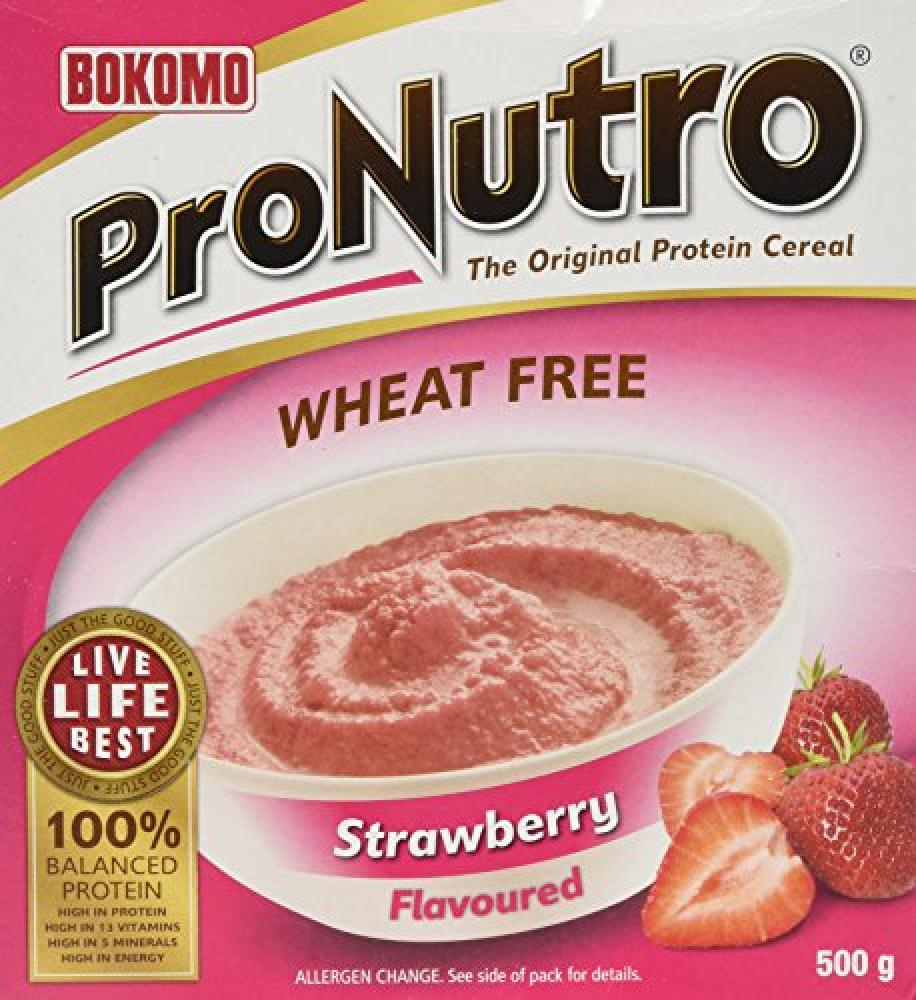 Bokomo ProNutro Strawberry Flavoured Cereal 500g