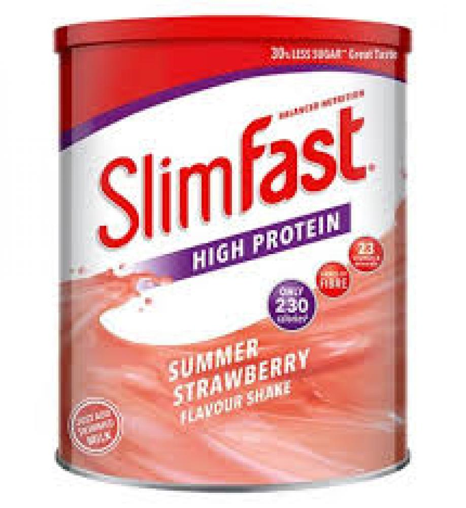 Slim fast Summer Strawberry Shake Powder 438g