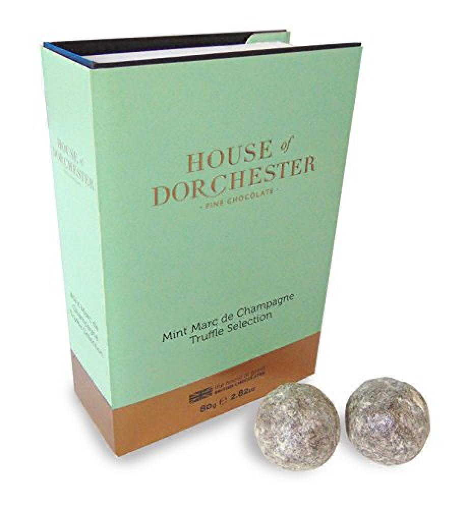 FURTHER REDUCTION  House Of Dorchester 6-Piece Mint Marc De Champagne Truffles 75 g