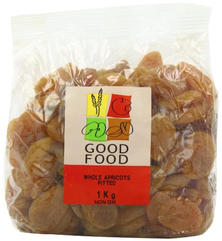 Mintons Good Food Whole Apricots 1kg