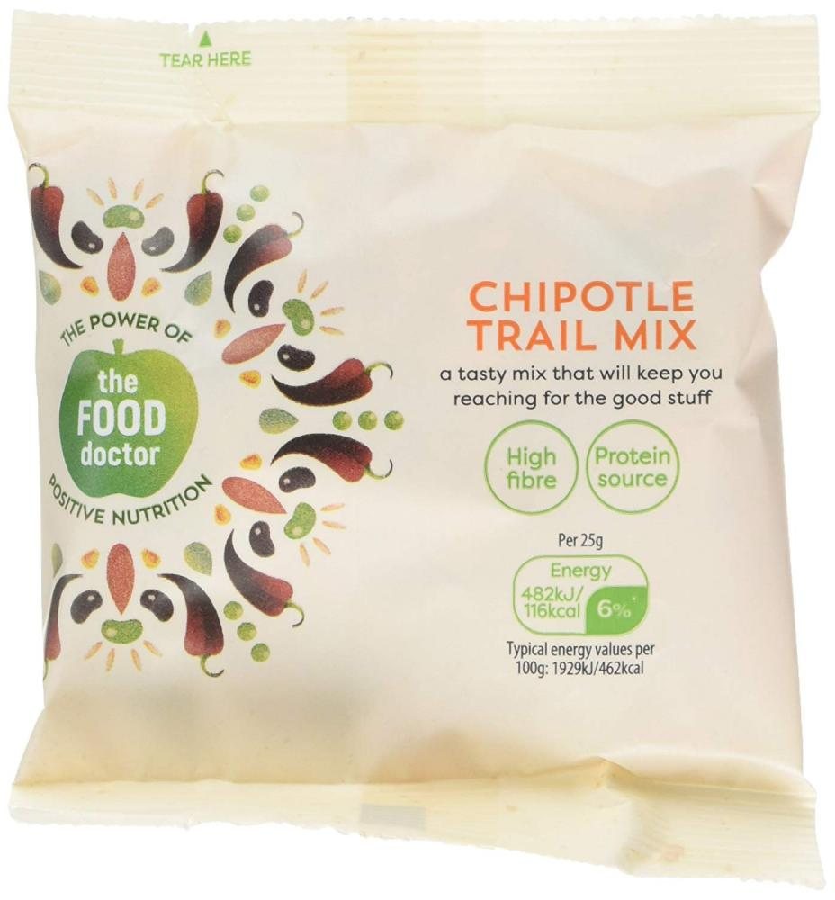 The Food Doctor Chipotle Trail Mix 25g