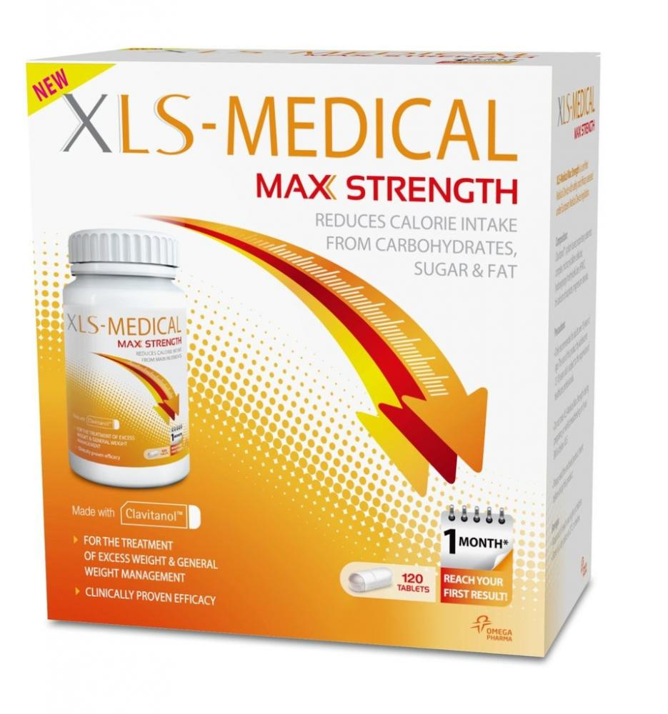 XLS Medical Max Strength Diet Pills for Weight Loss 40 Tablets