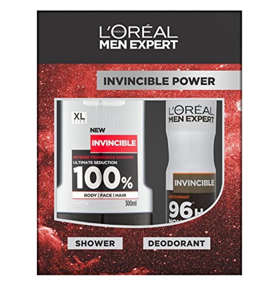 Loreal Men Expert Invincible Power 2-Piece Gift Set