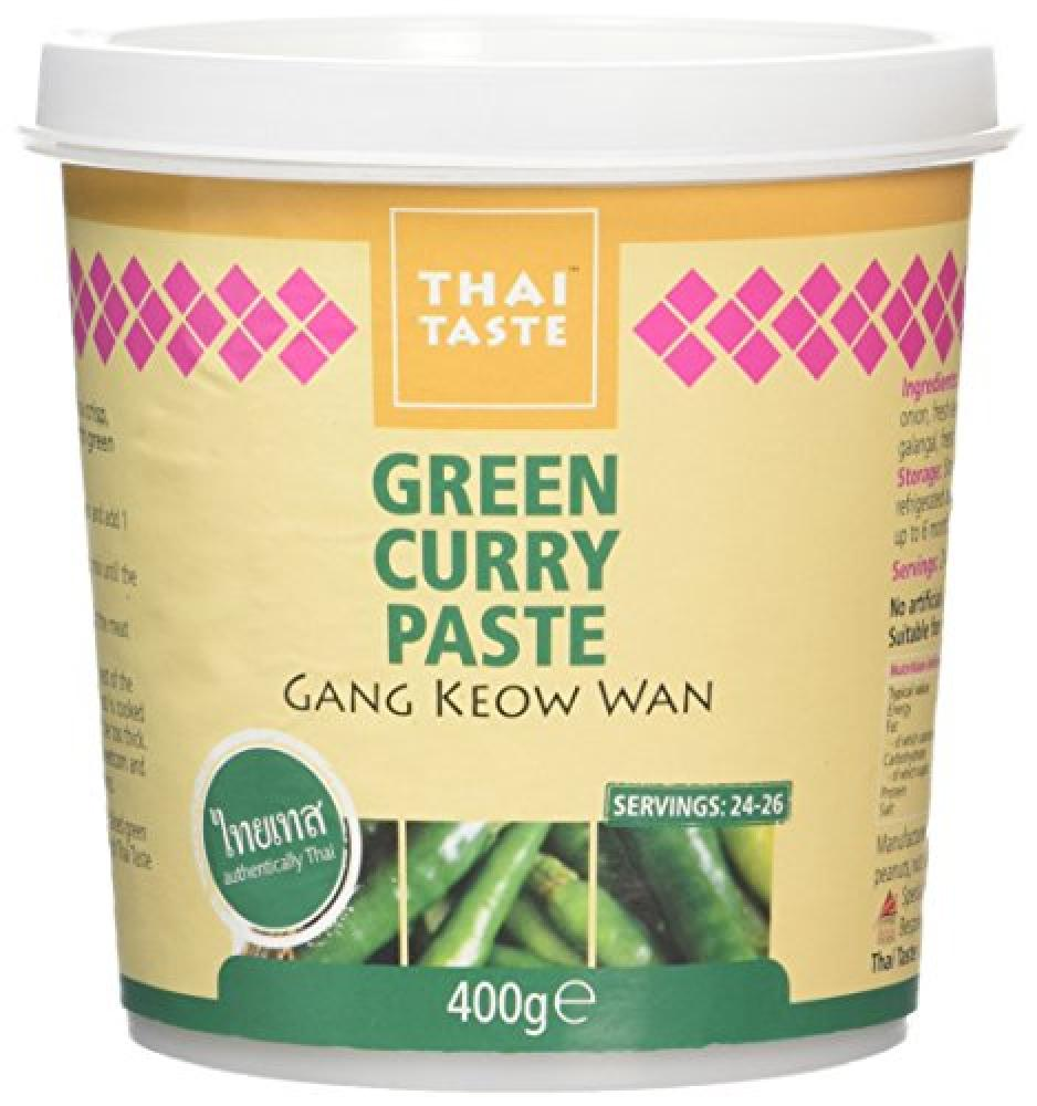 A Taste of Thai Green Curry Paste in Tub 400 g