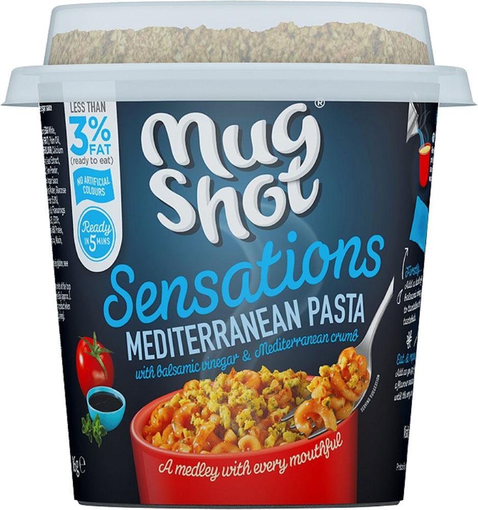 Mug Shot Mediterranean Pasta 86g