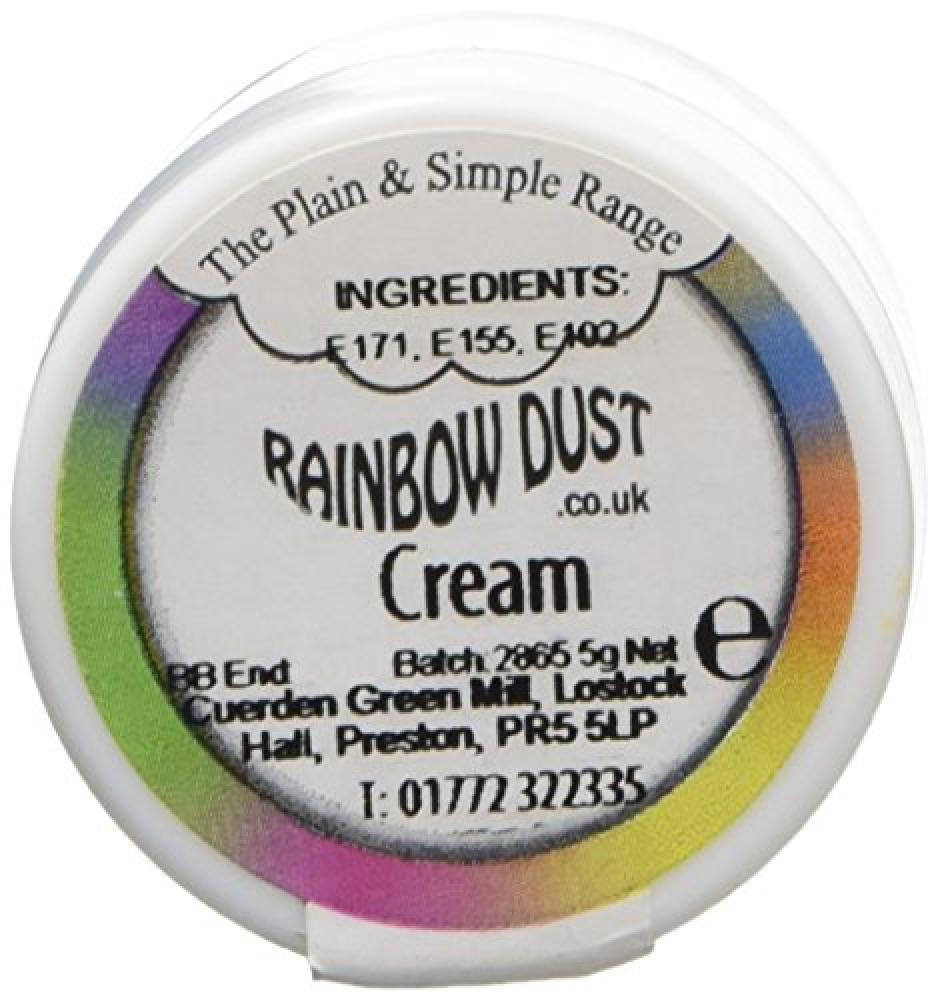 Rainbow Dust Plain and Simple Cream Colouring 5g