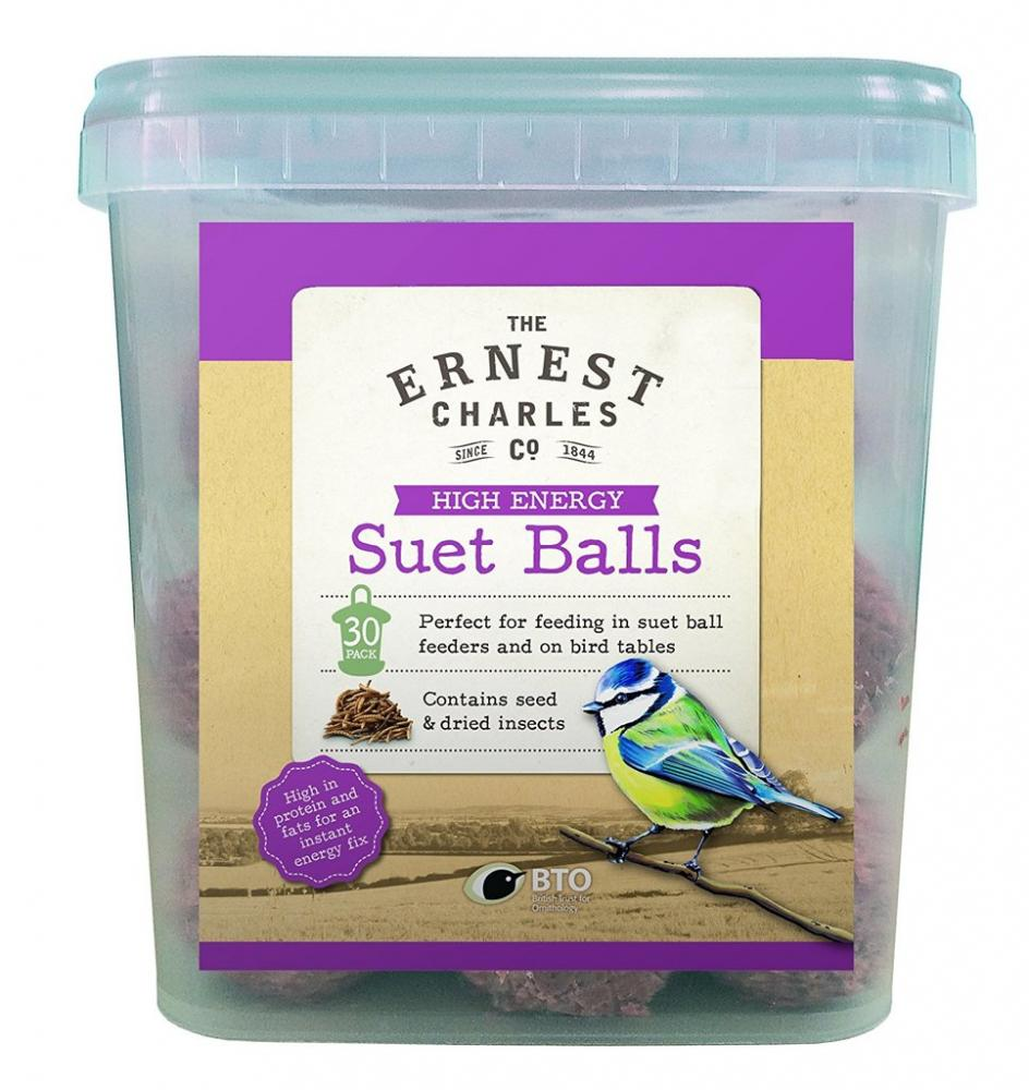 The Ernest Charles Co High Energy Suet Balls 30 Pack