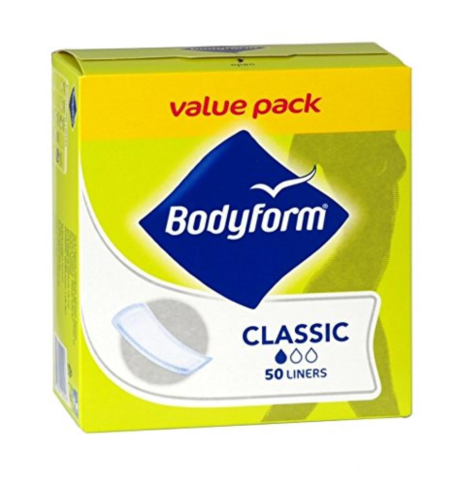 Bodyform Classic Daily 50 Panty Liners