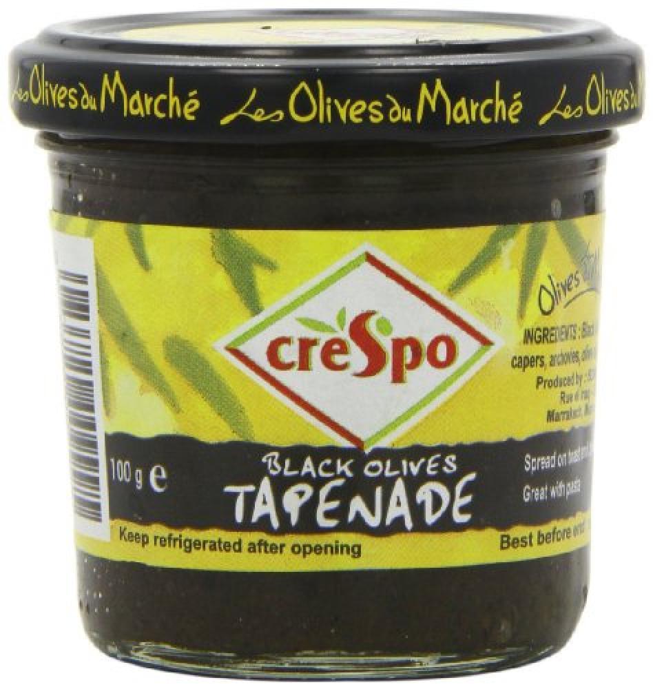 Crespo Black Olive Tapenade 100g