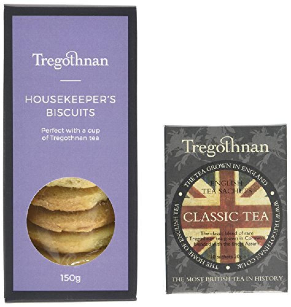 Tregothnan Tea and Biscuits Gift Set