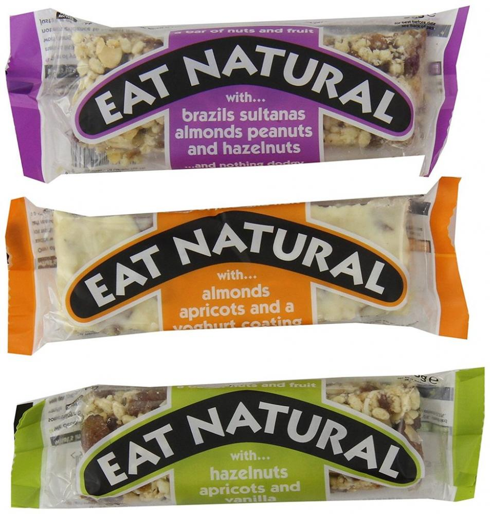 Eat Natural Assorted Nuts and Fruit Bar 50 g Lucky Dip