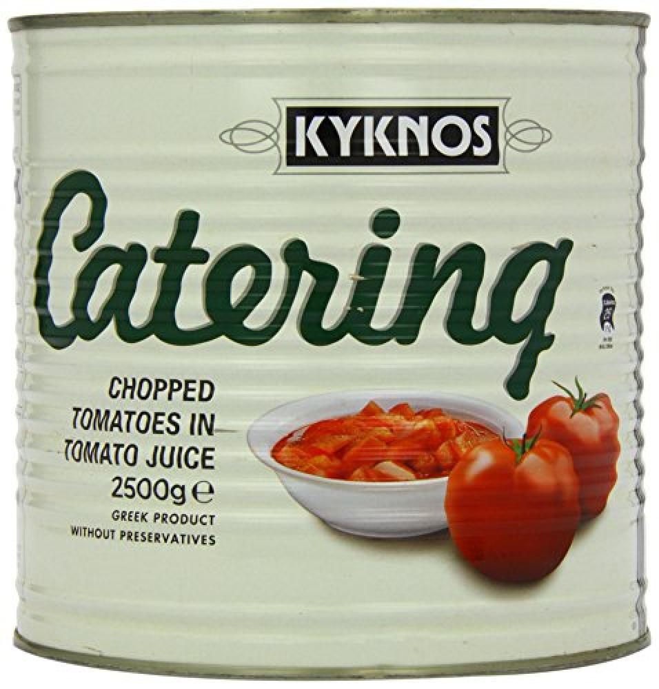 KYKNOS Chopped Tomatoes in Tomato Juice 2500 g