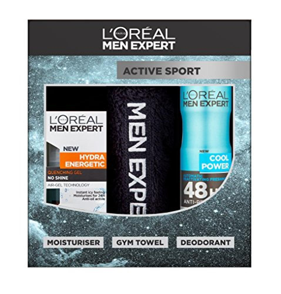 LOreal Men Expert Active Sport 3 Piece Gift Set