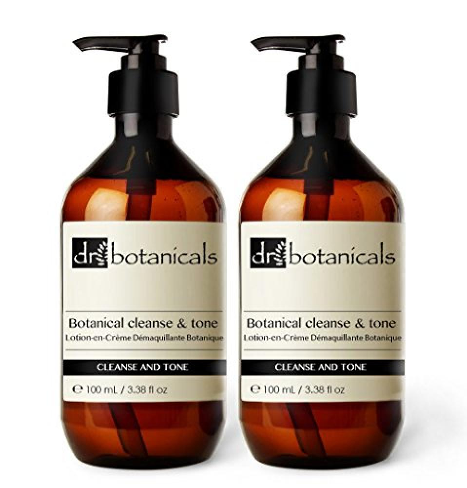 Dr Botanicals Cleanse and Tone 2x100ml
