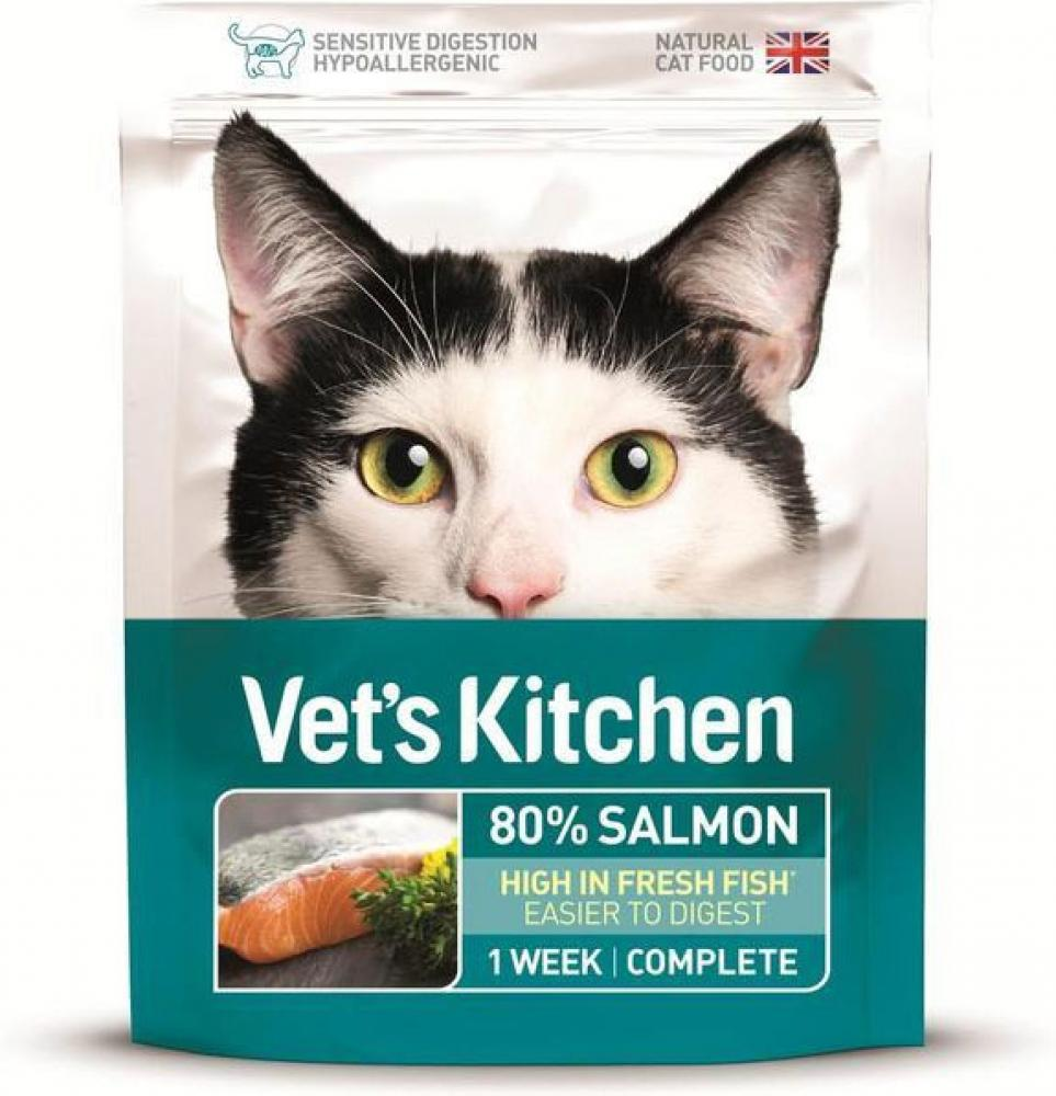 Vets Kitchen Salmon Cat Food 385g