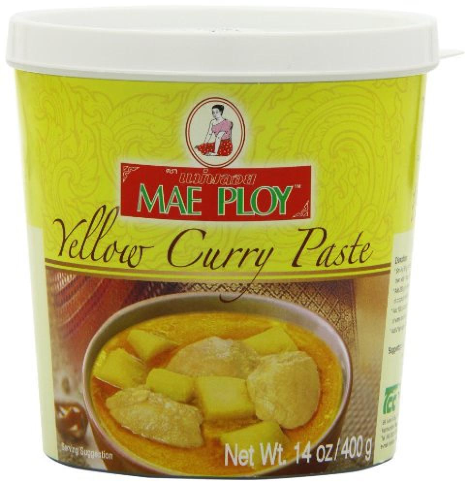 Mae Ploy Yellow Curry Paste 400 g