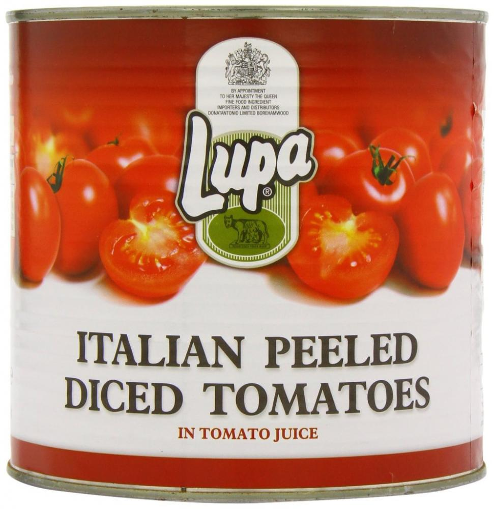Lupa Italian Diced Tomatoes 2500g