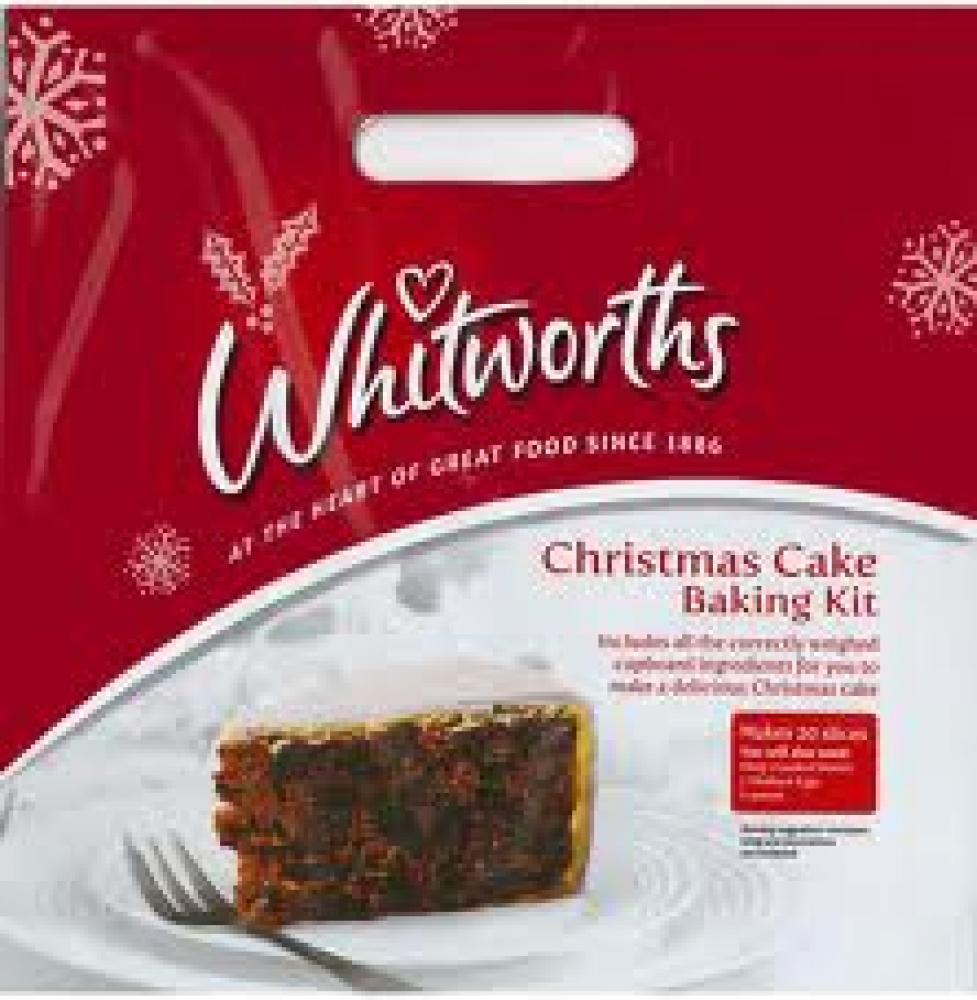 Whitworths Christmas Cake Kit