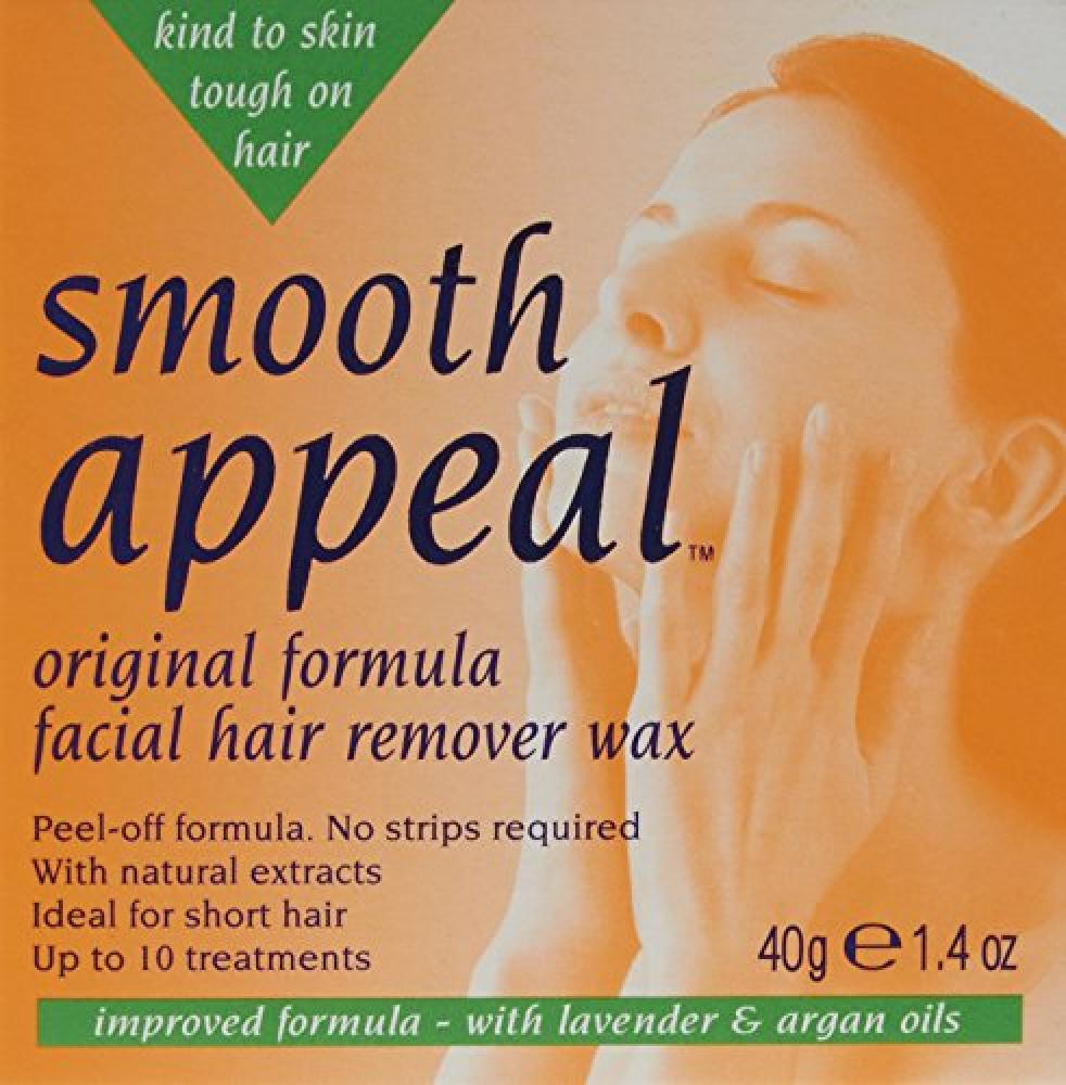 Smooth Appeal Original Facial Hair Remover Wax 40 g