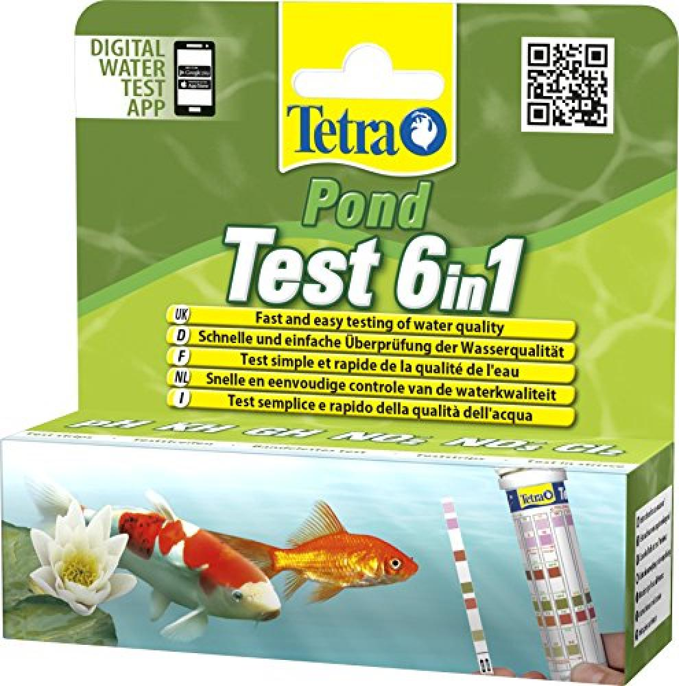 Tetra 6-in-1 Pond Test Strip