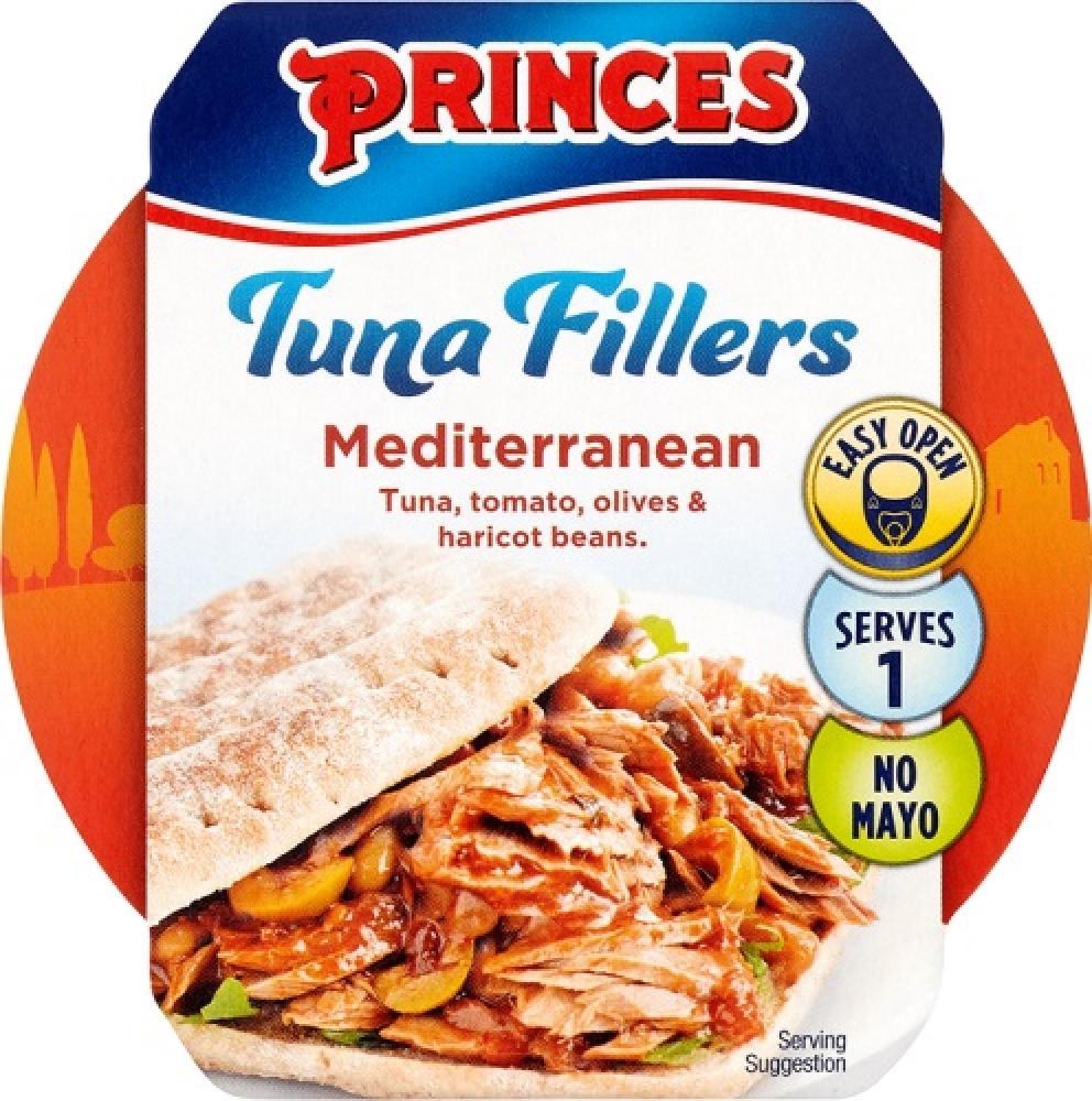 Princes Tuna Fillers Mediterranean 100g