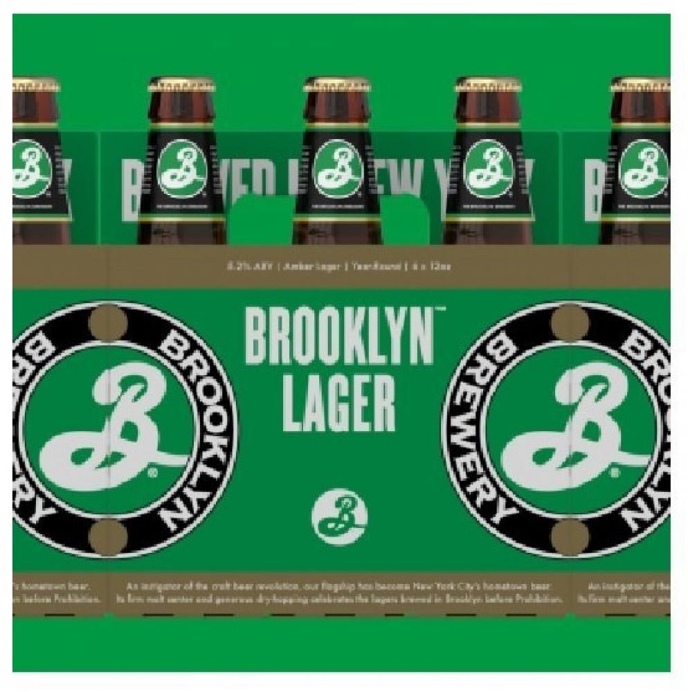 CASE PRICE  Brooklyn Brewery Lager Beer 355ml x 12