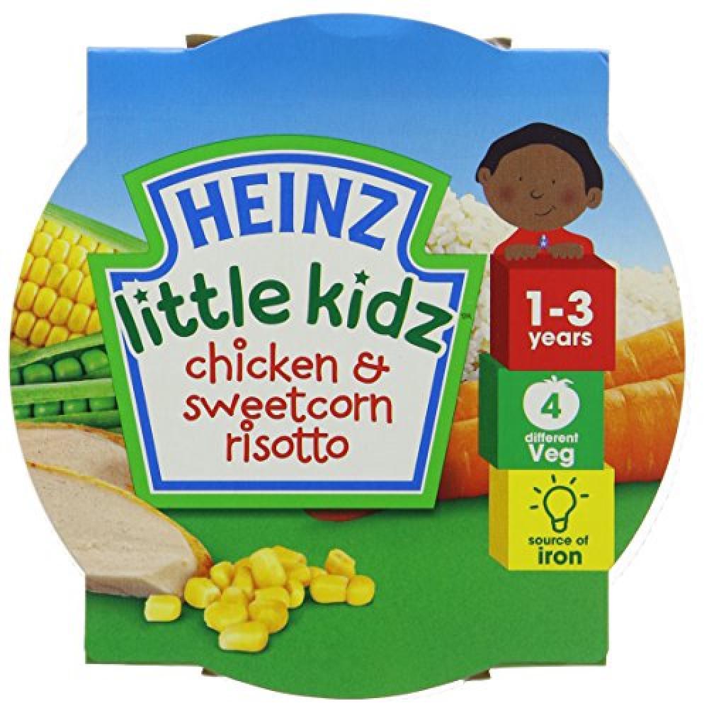 Heinz Little Kidz Chicken and Sweetcorn Risotto 230 g