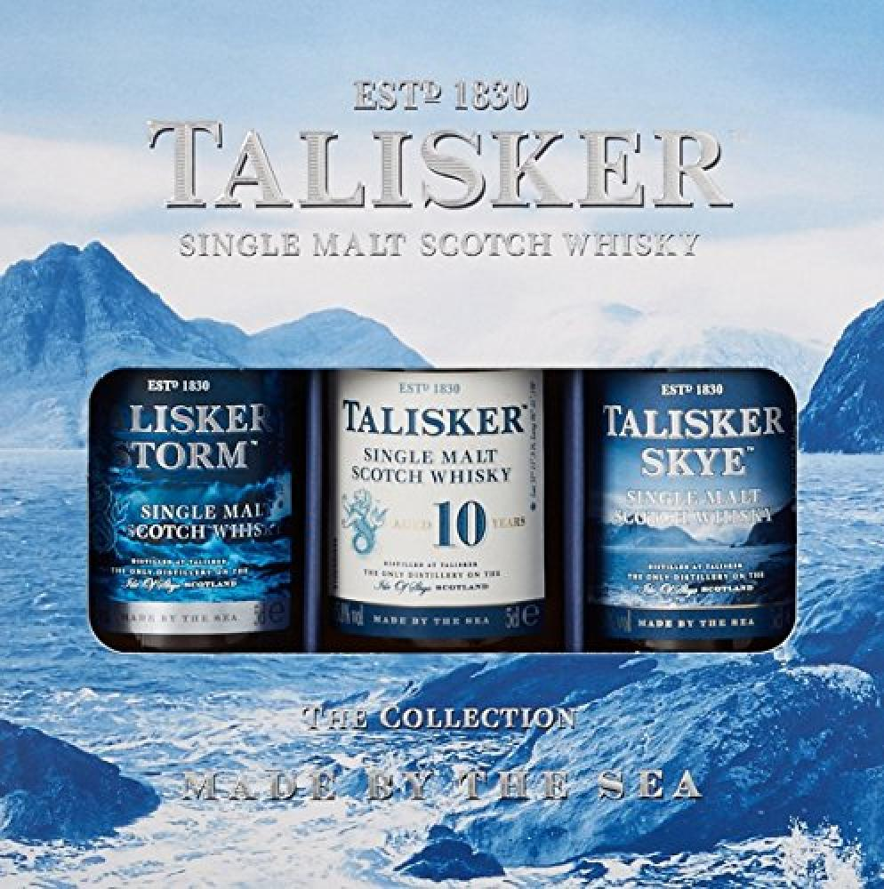 Talisker Whisky Miniature Giftset (Case of 3) 5 cl