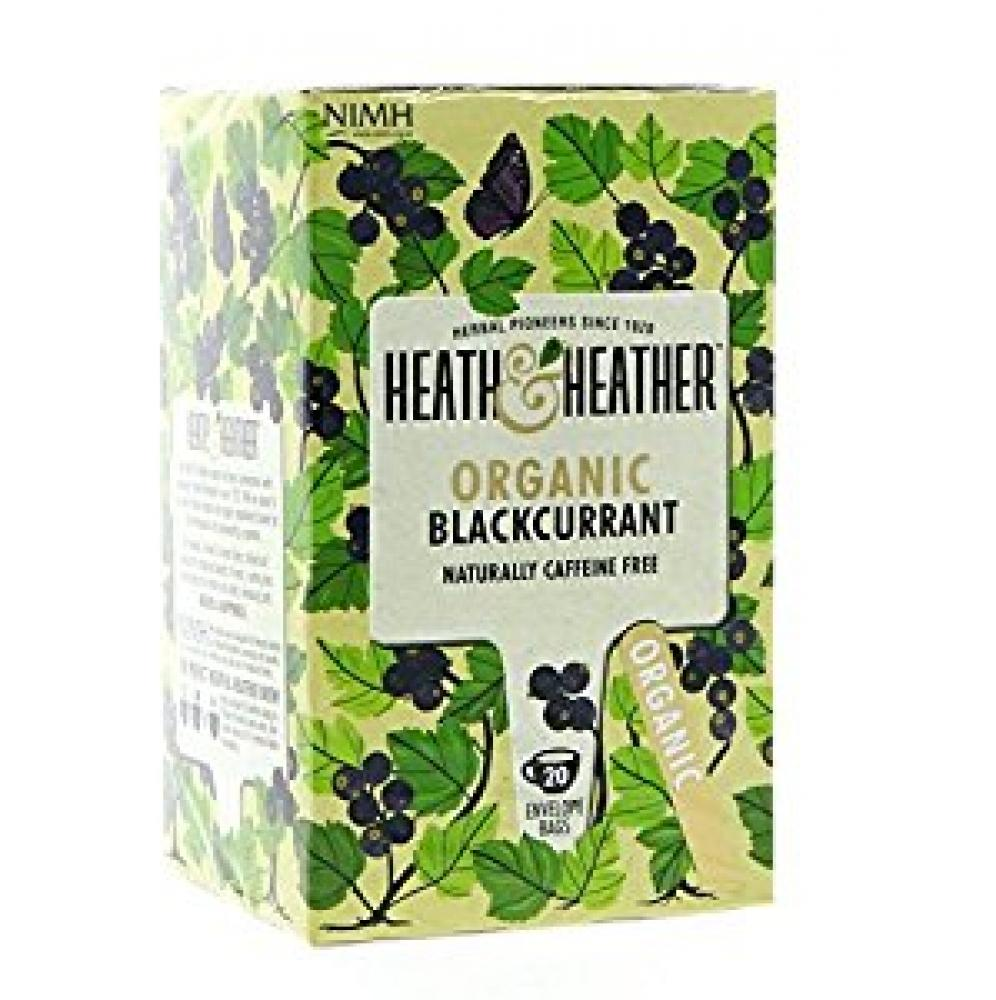 Health and Heather Organic Blackcurrant 20bags