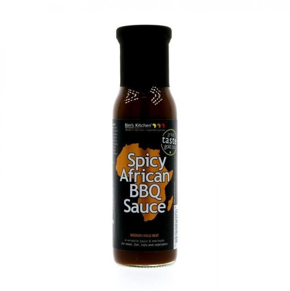 Bims Kitchen Spicy African BBQ Sauce 250ml