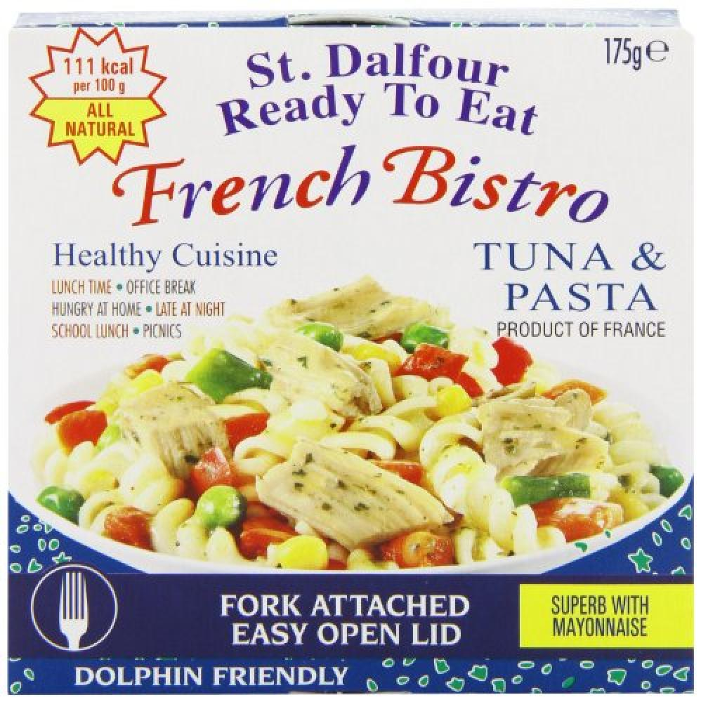 St Dalfour French Bistro Ready To Eat Tuna and Pasta 175g