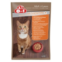 Image of 8 in 1 Wet Food For Adult Cat Chicken 100g