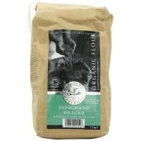 Image of Bacheldre Watermil Organic Stoneground Rye Flour 1.5kg