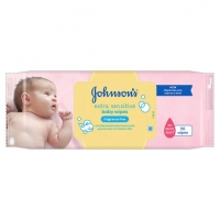 Image of Johnsons Baby Extra Sensitive Fragrance Free Wipes 56 Wipes
