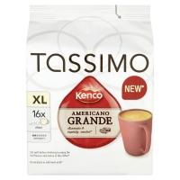 Image of WEEKLY DEAL Tassimo Kenco XL Americano Grande x 16 DISC 144g