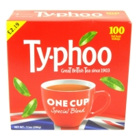 Image of Typhoo 100 One Cup Special Blend Tea Bags