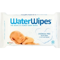 Image of WaterWipes Natural Sensitive Chemical Free 60 Baby Wipes