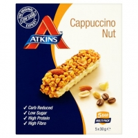 Image of Atkins Cappuccino Nut 5x30g