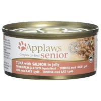 Image of Applaws Senior Complete Wet Cat Food Tuna with Salmon in Jelly 70g