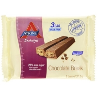 Image of Atkins endulge Chocolate Break pack of 3x21.5g bars