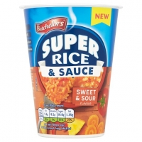 Image of Batchelors Super Rice and Sauce Sweet and Sour Flavour 60g