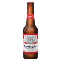 Image of Budweiser Original Lager Beer 330ml