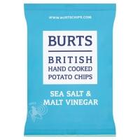 Image of SATURDAY SPECIAL Burts Potato Chips Sea Salt and Malt Vinegar 25g