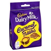 Image of Cadbury Dairy Milk Caramel Nibbles 120g