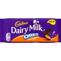 Image of TODAY ONLY Cadbury Dairy Milk Oreo Peanut Butter 120g