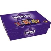 Image of WEEKLY DEAL Cadbury Heroes Chocolate Box 78 g