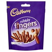 Image of Cadbury Nibbly Fingers 125g