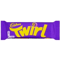 Image of MEGA DEAL Cadbury Twirl Chocolate Bar 43g